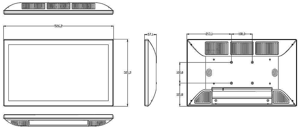 Technical Drawing of MMZBTP-21.5G-X