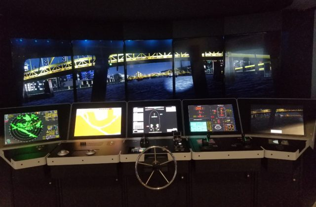 simulator monitor